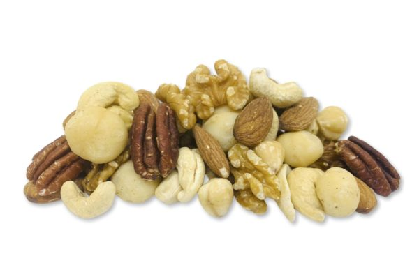 Deluxe Natural Nuts baked