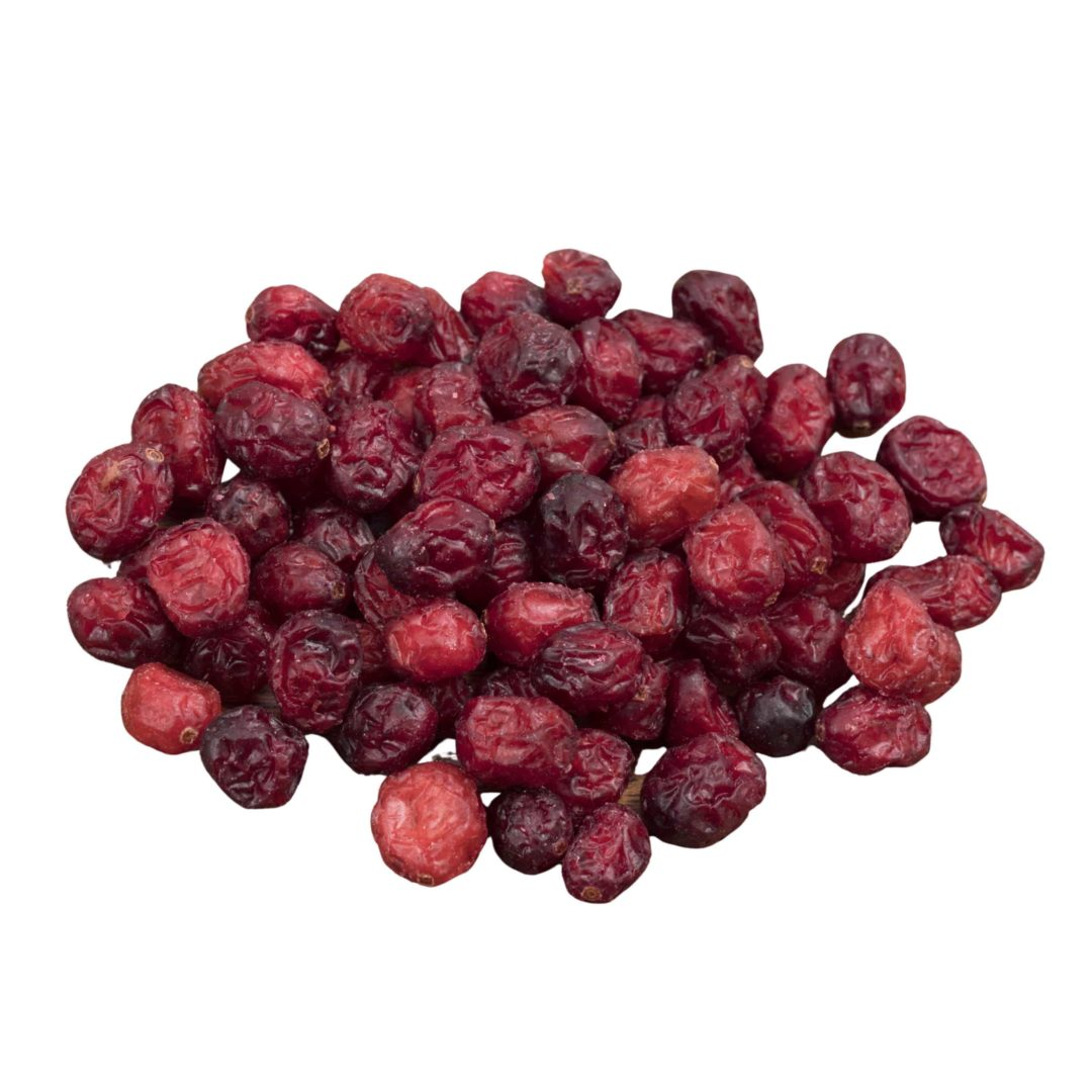 Dried whole cranberry