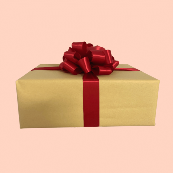 Gift box nuts and snacks gift wrapping