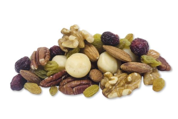 Travellers Choice nuts and snacks