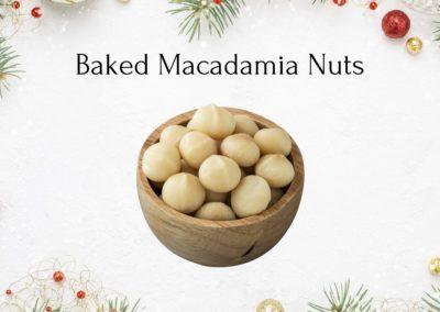 Christmas Baked Macadamia Nuts