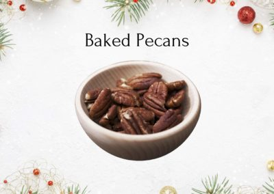 Christmas Baked Pecans