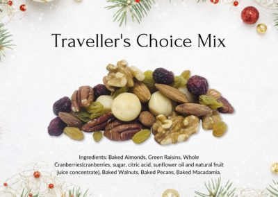 Christmas Traveller's Choice Mix