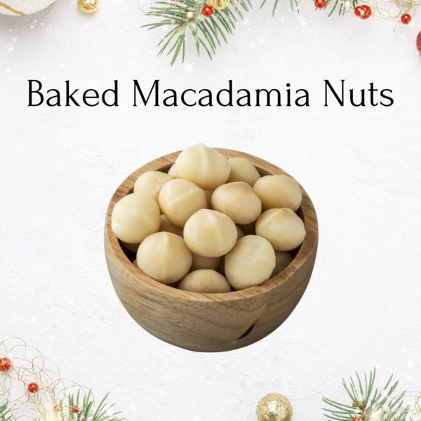 baked macadamia nuts christmas