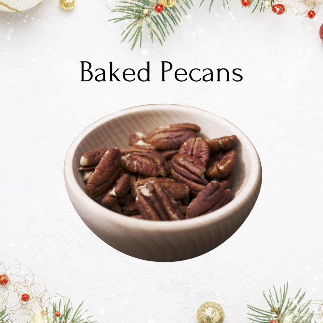 baked pecans christmas