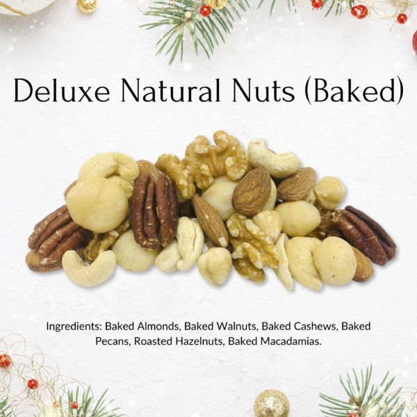deluxe natural nuts christmas