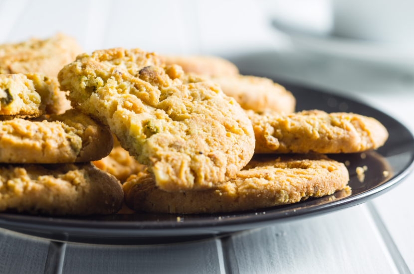 Recipe: Pistachio and Macadamia Cookies