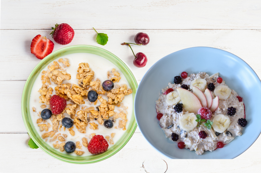 The Difference Between Granola and Muesli