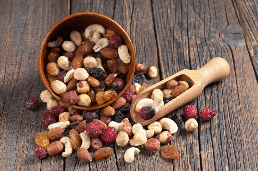 Health Benefits of Eating Nuts, Seeds and Dried Fruits