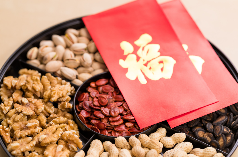 Nuts And Seeds For Chinese New Year