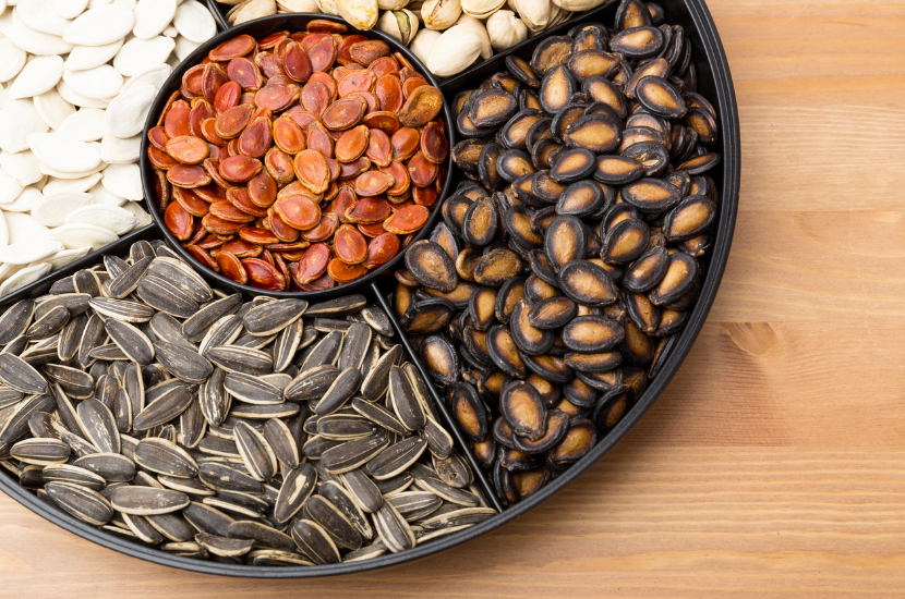 Sunflower seeds and watermelon seeds for Chinese New Year