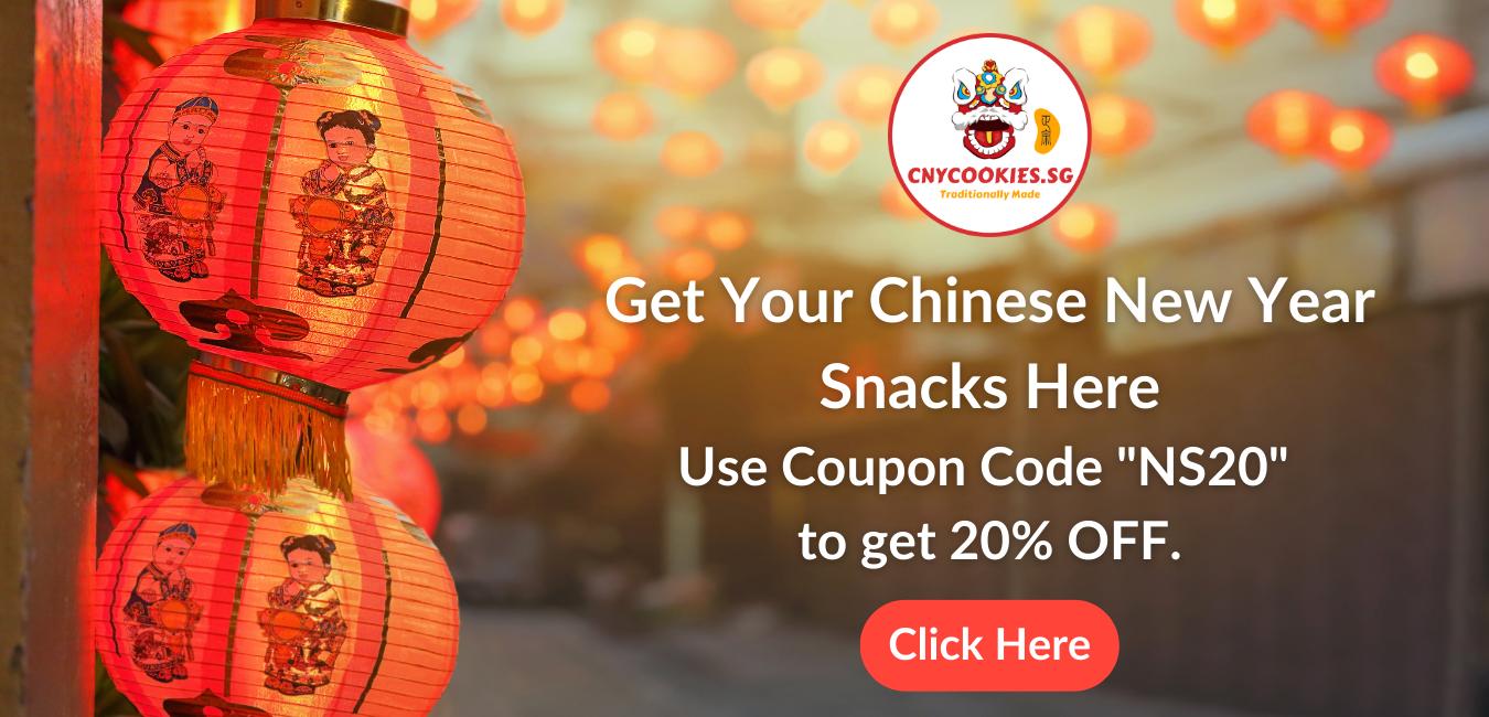 Chinese New Year Snacks cookies singapore