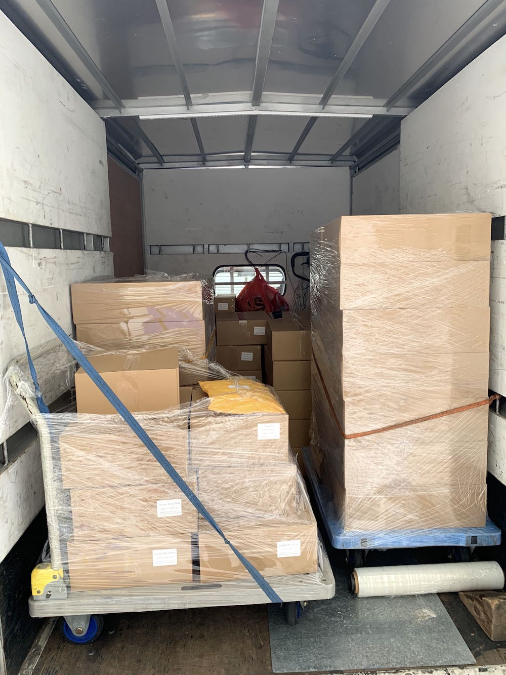 Truck Delivery for Large Orders