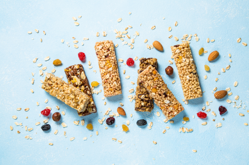Healthy Fruits And Nuts Granola Bars Recipe