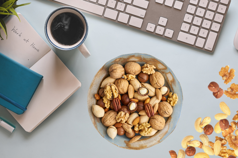 Top 6 Mixed Nuts and seeds for Work From Home Days
