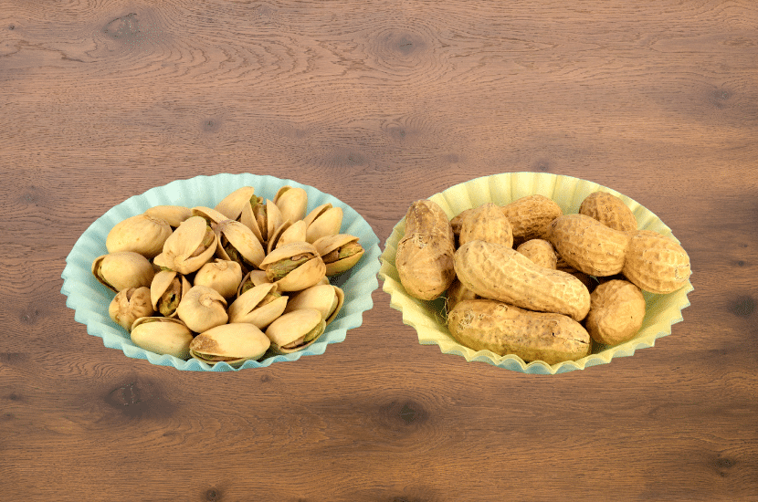 Peanuts Vs. Pistachios, a comparison of their health benefits and uses