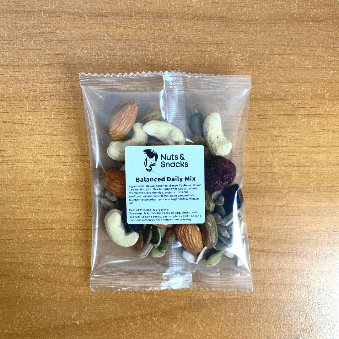single serve nuts pack