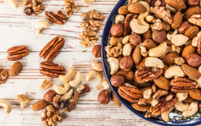 mixed nuts for athlete