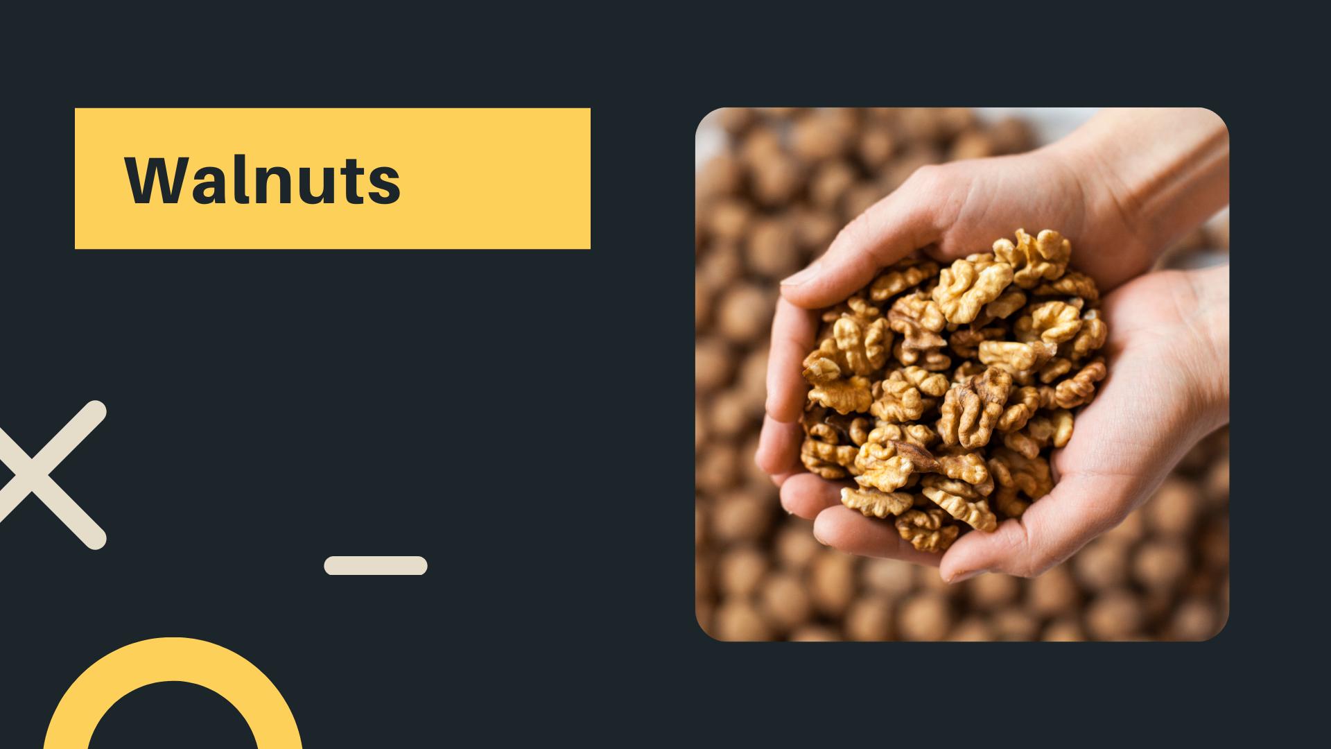 1 walnuts