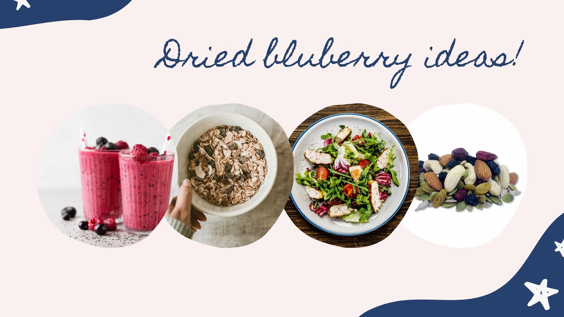 including dried blueberries  in your diet