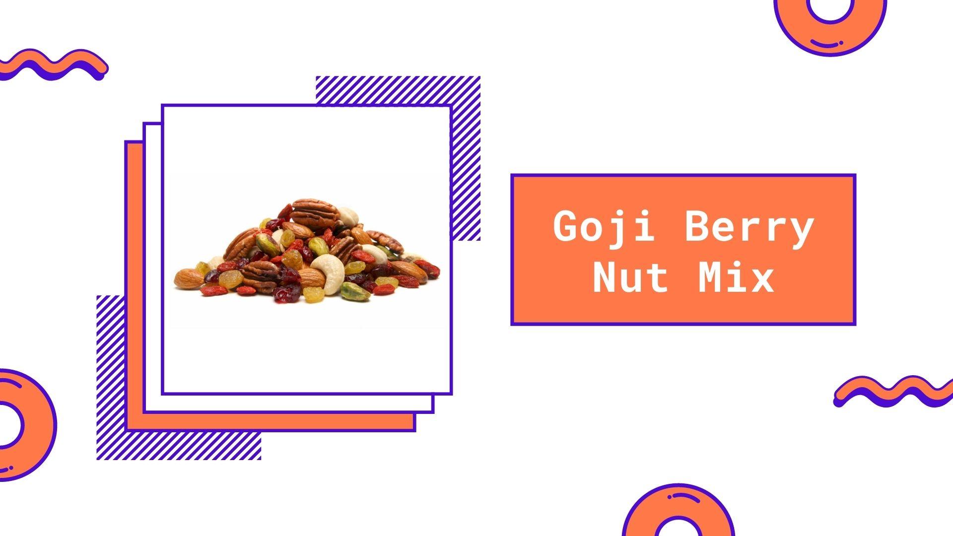 goji berry nut mix