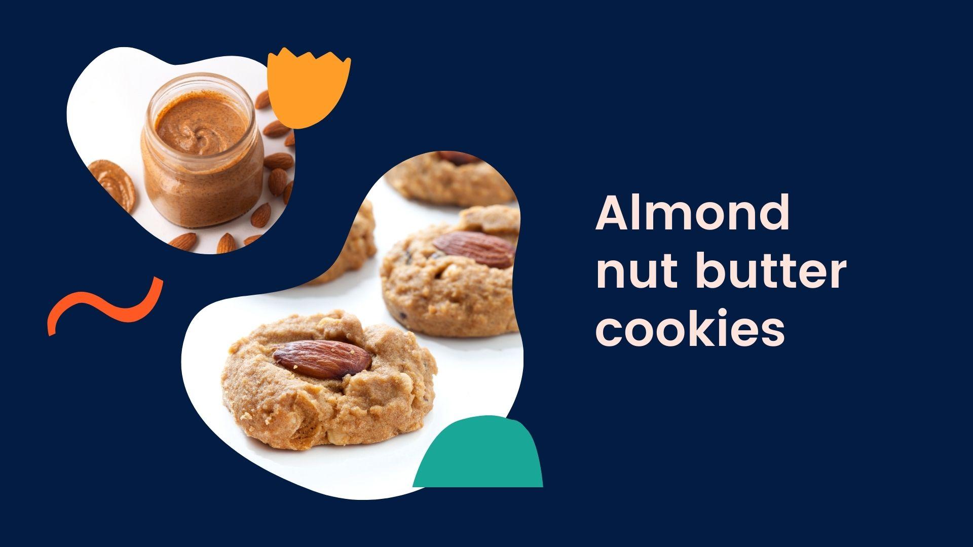 almond nut butter cookies