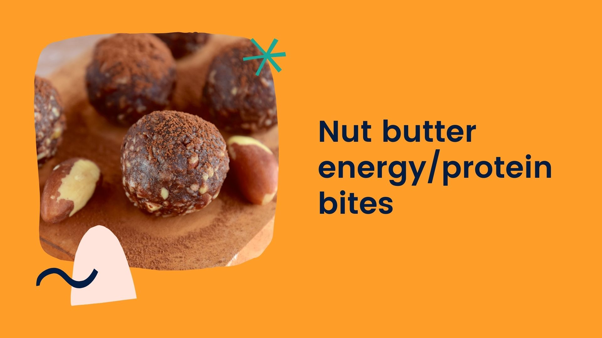 nut butter energy protein bites