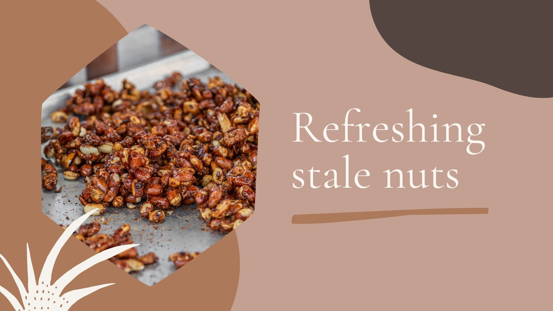 how to store stale nuts