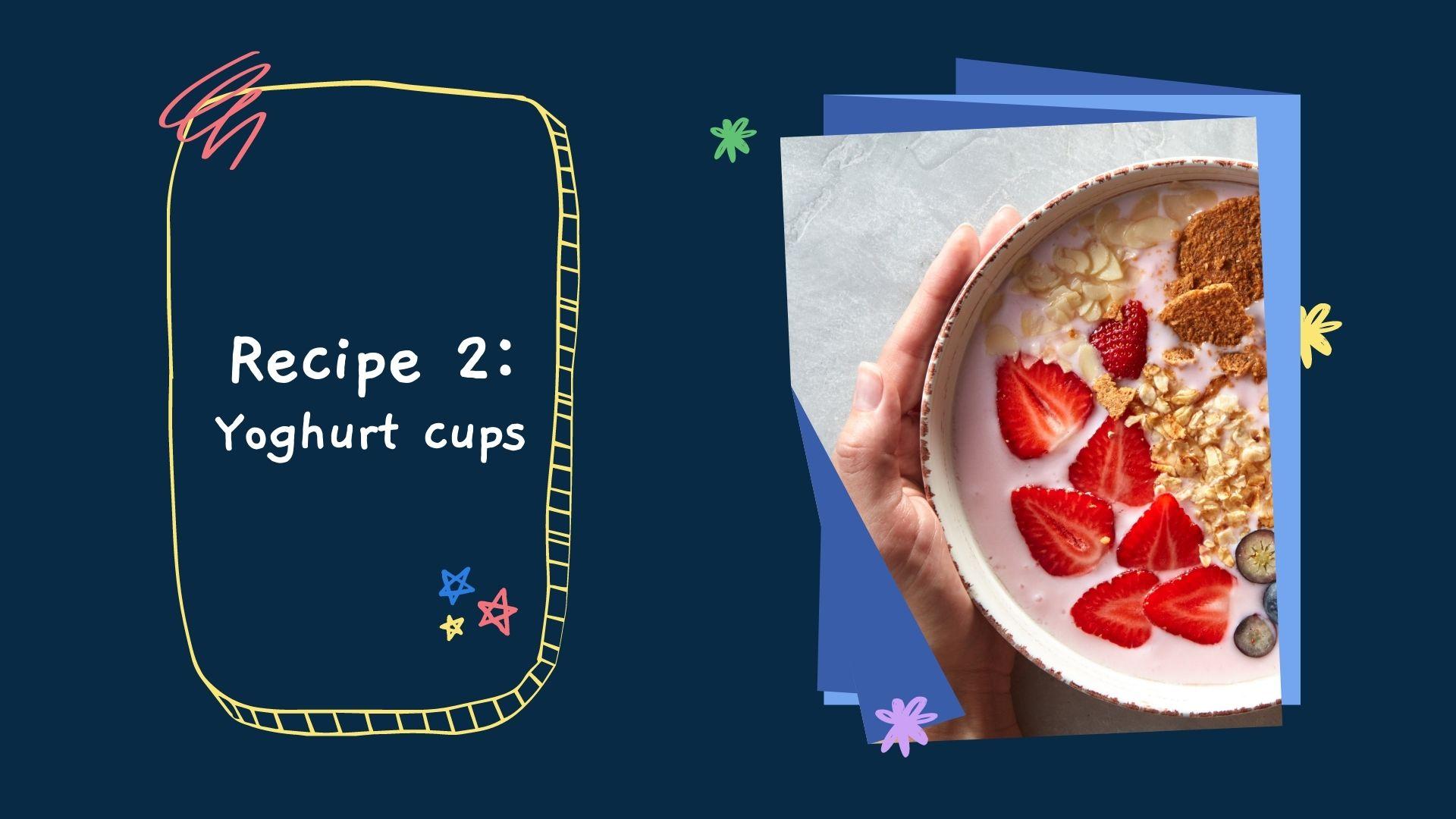 recipe yoghurt cups