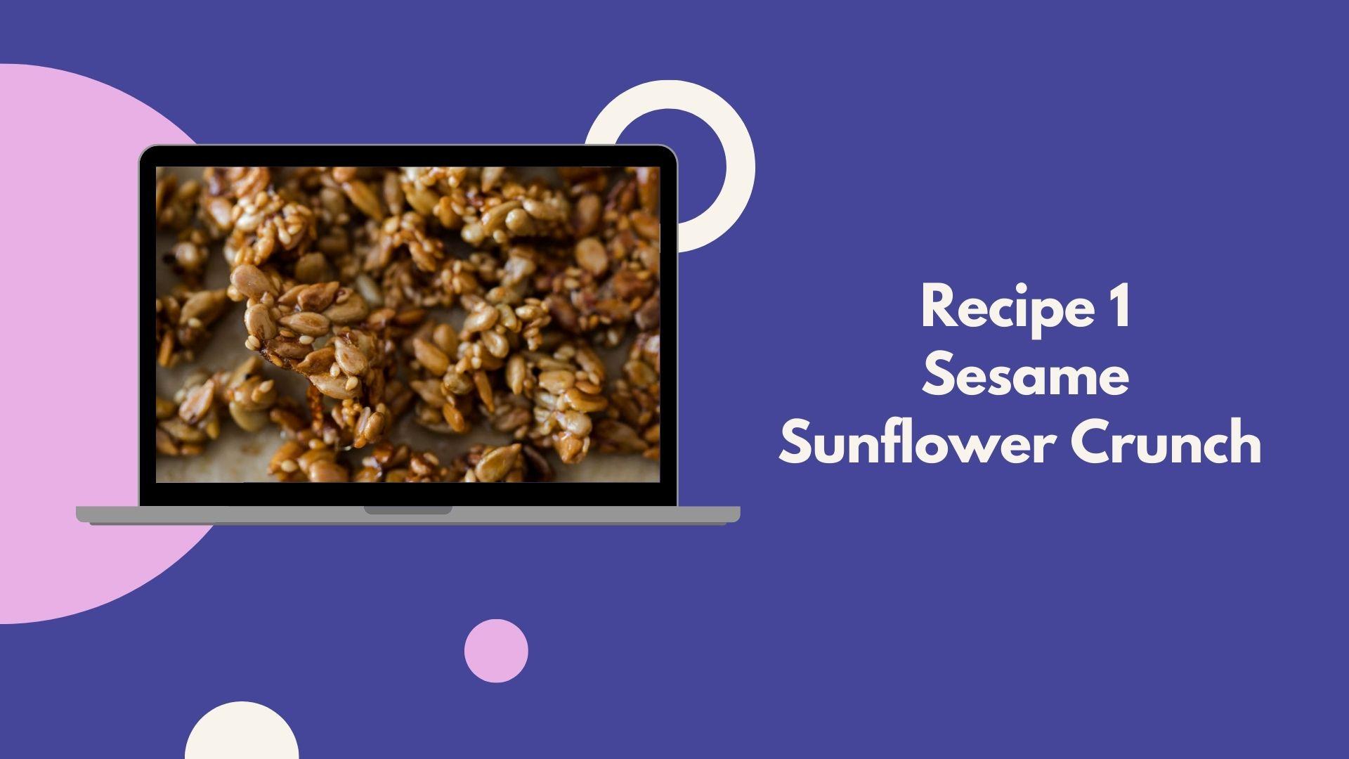 sesame sunflower crunch