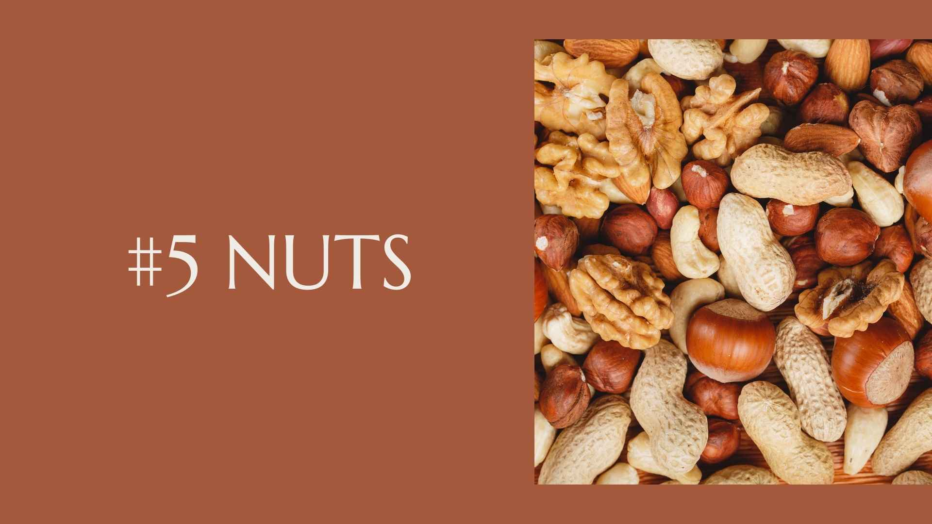 nuts for constipation