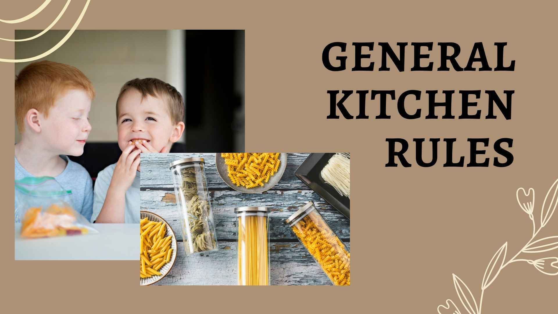 general kitchen rules