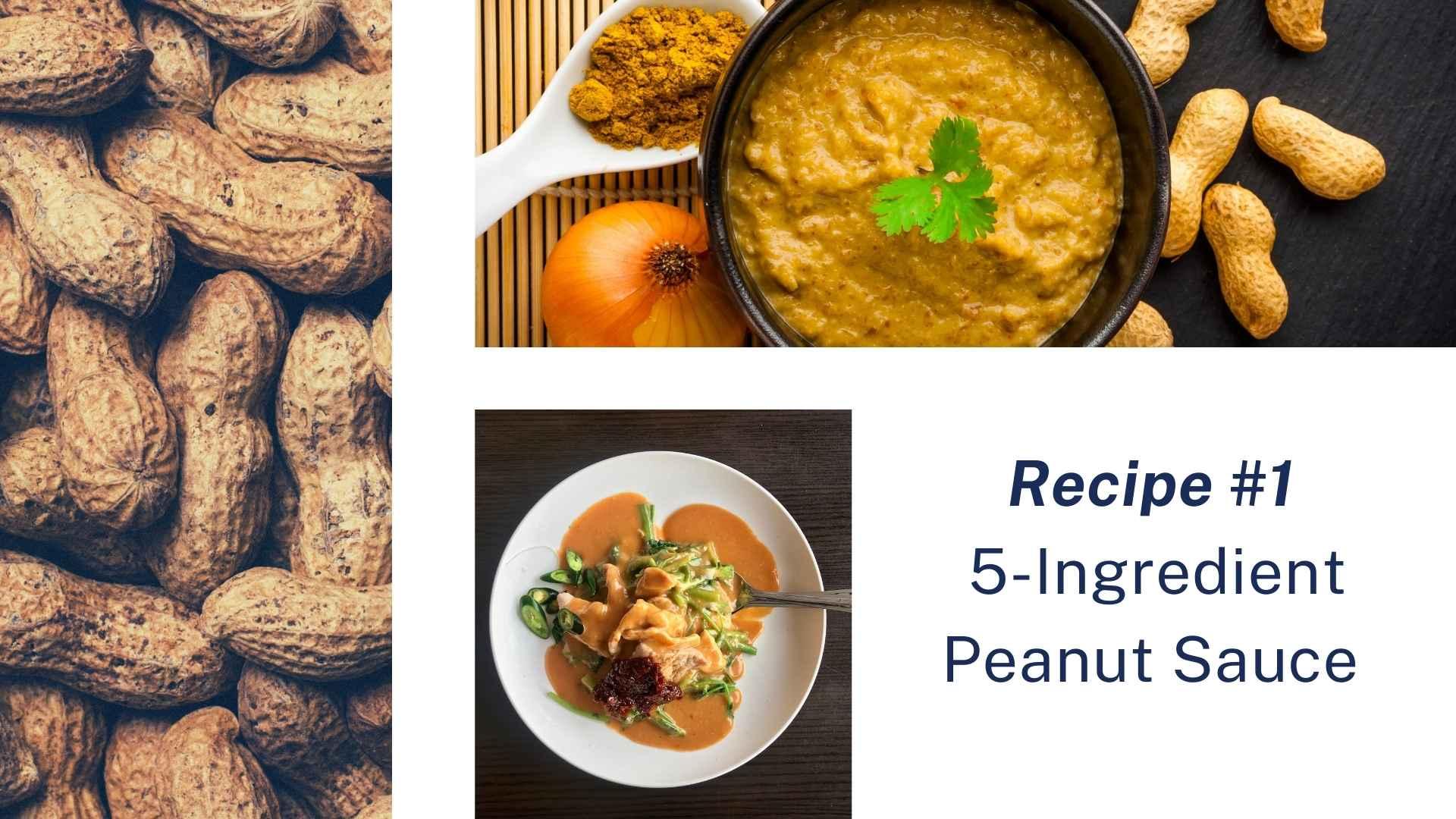 peanut sauce recipe