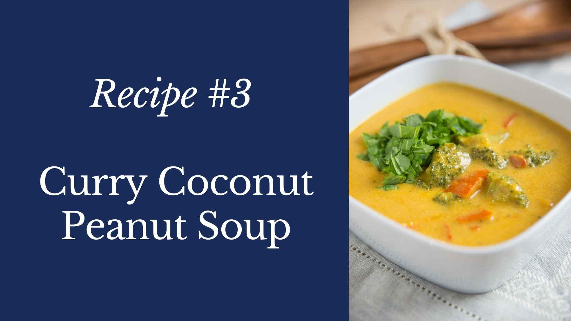curry coconut peanut soup recipe